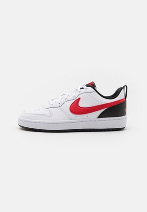 COURT BOROUGH UNISEX - Baskets basses - white/universe red/black