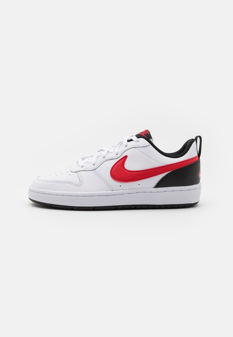 Nike Sportswear - COURT BOROUGH UNISEX - Sneakers laag - white/universe red/black