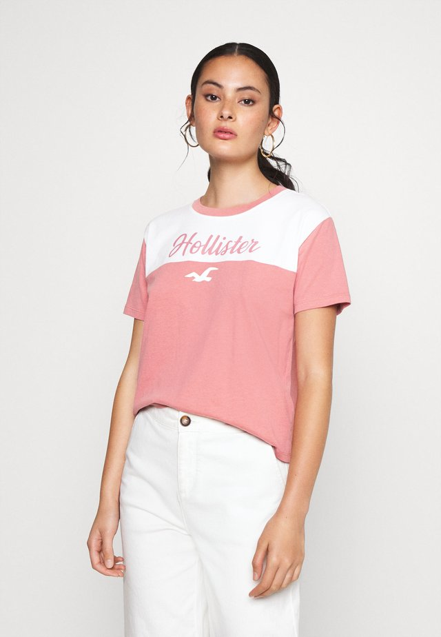 SPORTY - Camiseta estampada - pink