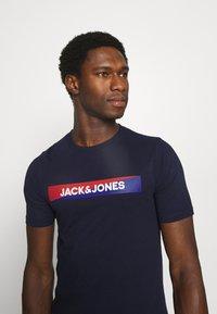 Jack & Jones - JACTREVOR TEE - Pyjama top - maritime blue - 3