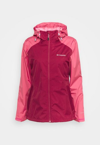 INNER LIMITS II JACKET - Hardshell jacket - red orchid/rouge pink