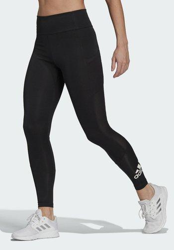 DESIGNED TO MOVE BIG LOGO SPORT LEGGINGS - Tights - black