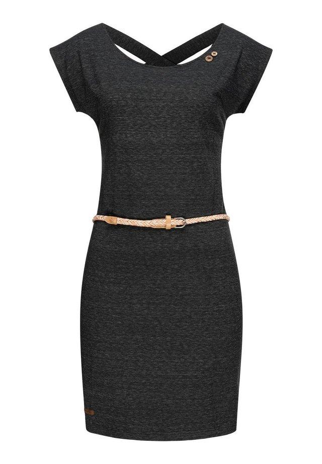 SOFIA W - Jersey dress - schwarz20
