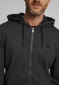 Esprit - Zip-up hoodie - anthracite - 6