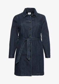 Sheego - Short coat - dark blue denim - 4