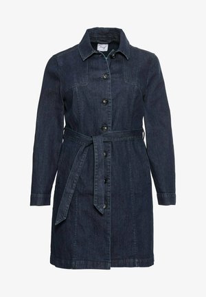 Short coat - dark blue denim