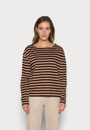 ALMA - Long sleeved top - light brown