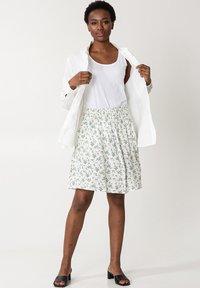 Indiska - A-line skirt - white - 1