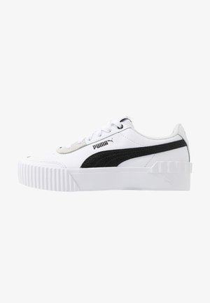 CARINA LIFT - Trainers - white/black
