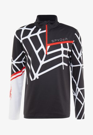 VITAL - Long sleeved top - black/white