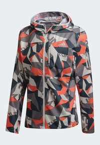 adidas Performance - OWN THE RUN CAMO JACKET - Outdoor jacket - grey - 8