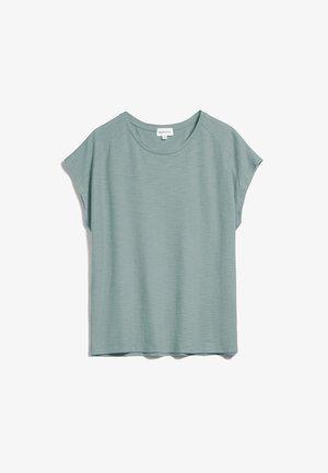 Basic T-shirt - eucalyptus green