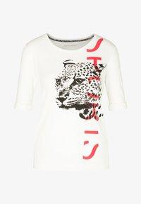 Marc Cain - Print T-shirt - offwhite - 4