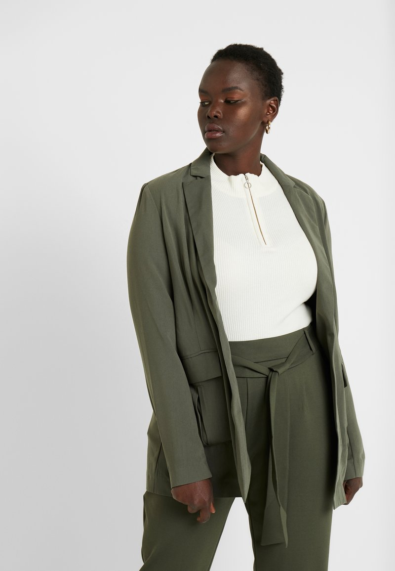 CAPSULE by Simply Be - UTILITY - Blazer - olive