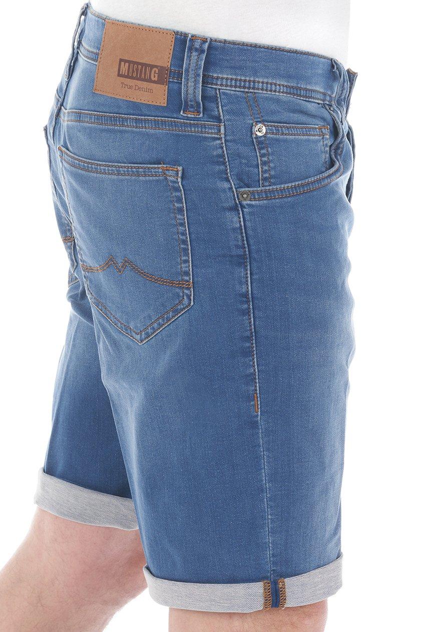 Herren CHICAGO - Jeans Shorts - light blue