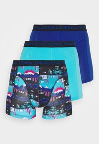 MUCHACHOMALO - ENDBOSS 3 PACK - Boxerky - blue/turquoise - 4