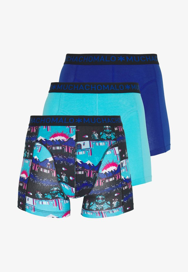 ENDBOSS 3 PACK - Underbukse - blue/turquoise