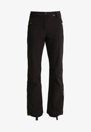 RIKSU - Długie spodnie trekkingowe - schwarz