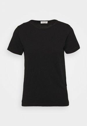 FAKOBAY - Basic T-shirt - noir vintage