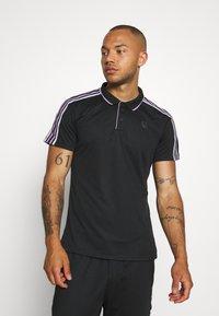 Björn Borg - TYLER - T-shirt sportiva - black beauty - 0