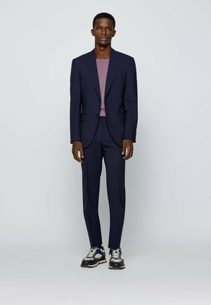 Jasper/Leon - Suit trousers - dark blue