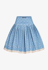 Berwin & Wolff - Pleated skirt - blau - 0