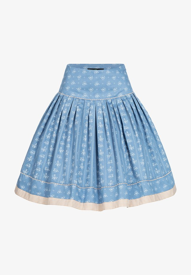 Pleated skirt - blau