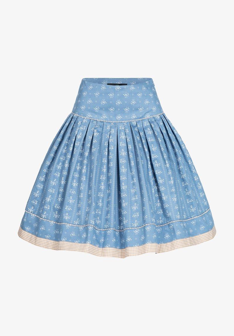 Berwin & Wolff - Pleated skirt - blau