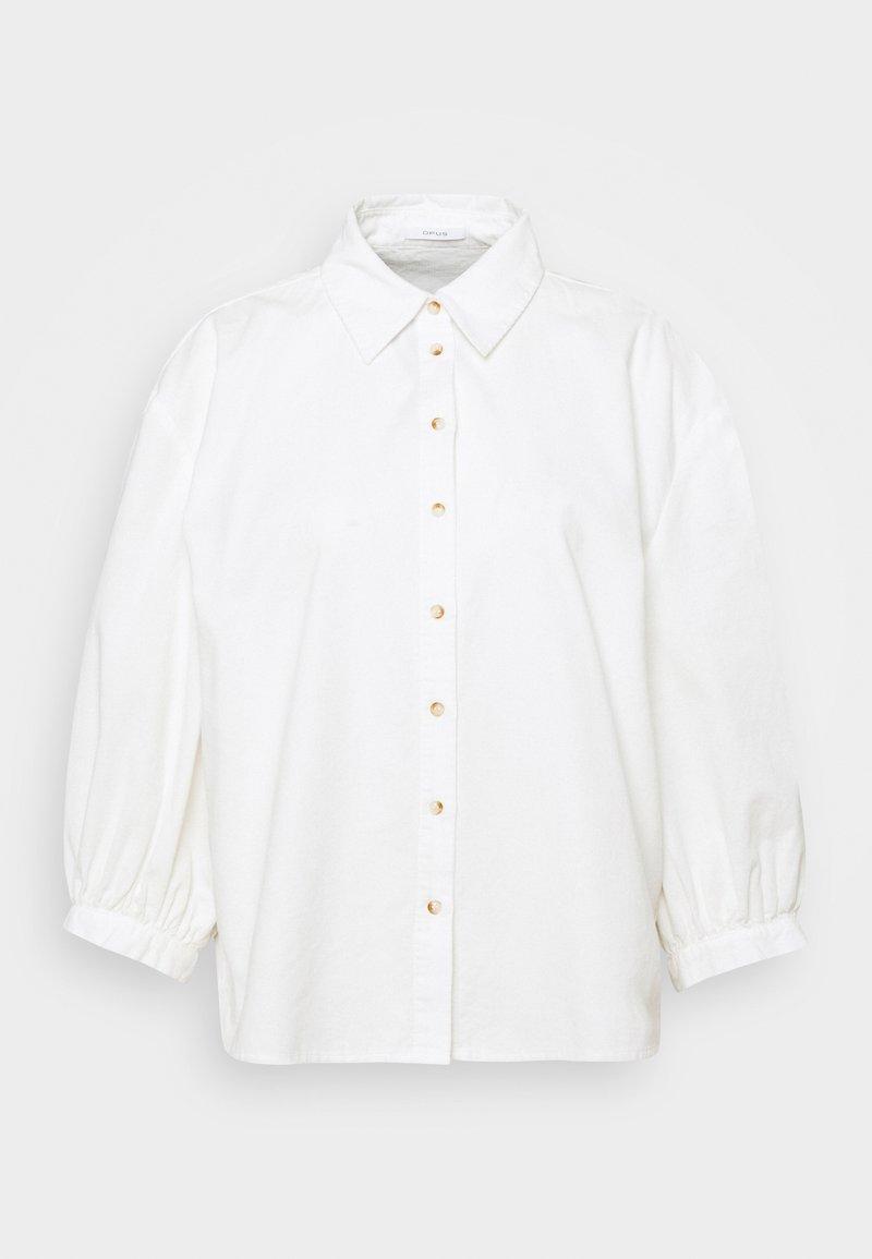Opus - FALINCHEN - Button-down blouse - milk