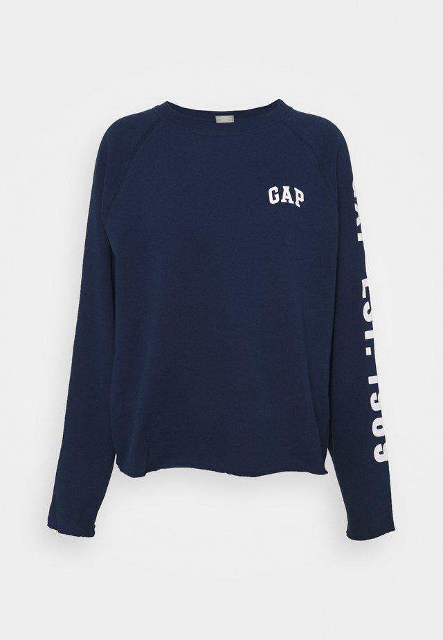 RAW EDGE - Sweatshirt - elysian blue