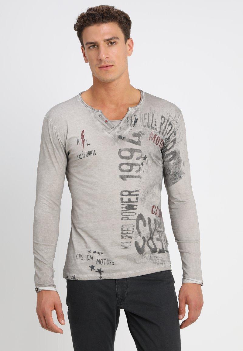Key Largo - SPEED - Maglietta a manica lunga - silver