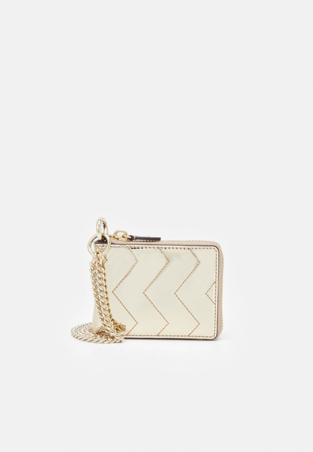 QUILTED WALLET - Lompakko - gold-coloured