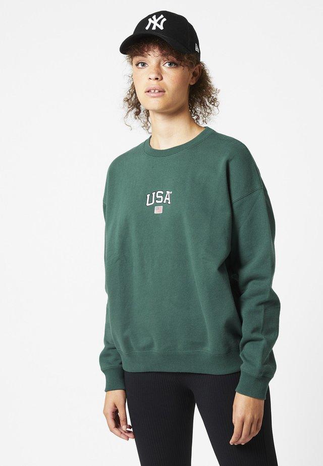 Sweater - bottle green