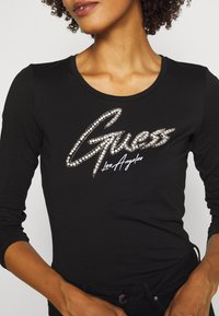 Guess - CAMILLA  - Long sleeved top - jet black - 4