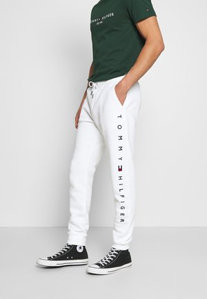 BASIC BRANDED - Pantaloni sportivi - white