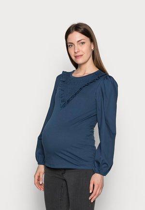 MLNADINE  - Long sleeved top - mallard blue