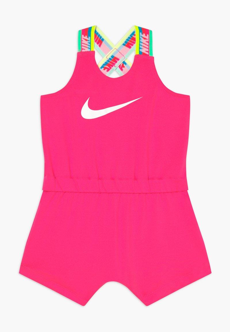 Nike Sportswear - GIRLS RAINBOW ROMPER BABY - Kombinezon - hyper pink