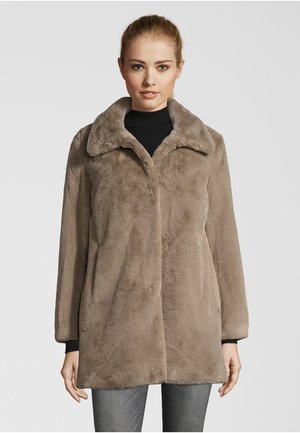 Short coat - dark beige
