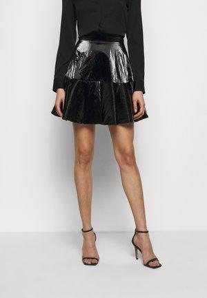 Pleated skirt - nero