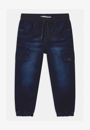 NMMBOB - Relaxed fit jeans - dark blue denim