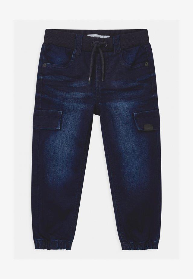 NMMBOB - Jeans baggy - dark blue denim