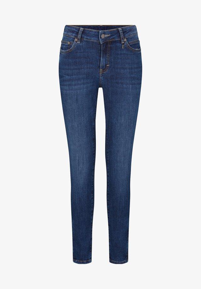 Skinny džíny - dark denim blue
