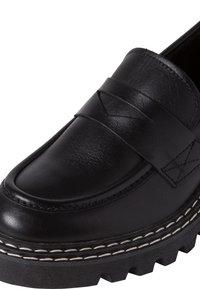 Tamaris - Slip-ons - black leather - 5