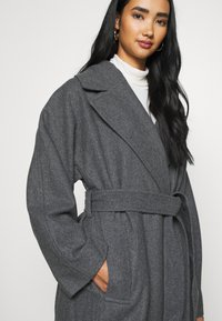Weekday - KIA BLEND COAT - Abrigo - antracit melange - 5