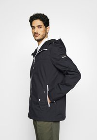 Solid - JACKET HUNT - Summer jacket - dark blue - 3