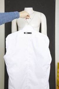 KARL LAGERFELD - SHIRT MODERN FIT - Camicia - white - 4