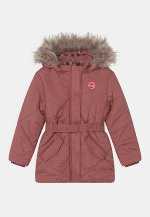 KID - Winter coat - dark terracotta