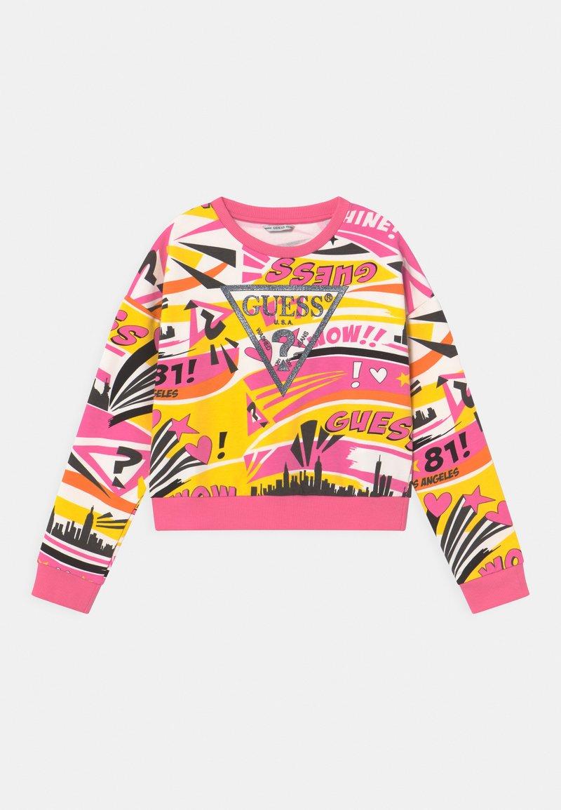 Guess - JUNIOR ACTIVE  - Sweatshirt - popstar yellow/multi