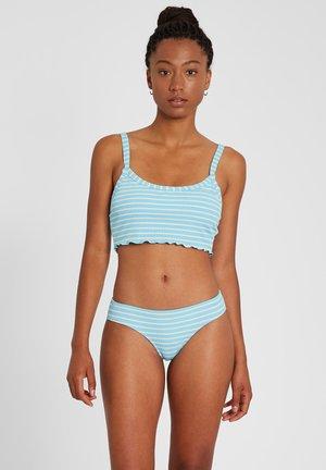 NEXT IN LINE CHEEKINI  - Bikini bottoms - coastal_blue