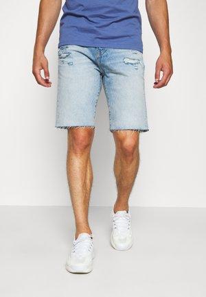 Jeansshorts - light-blue denim